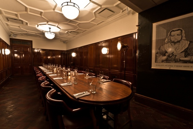 Hawksmoor air street for Best private dining rooms uk